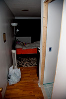 Bedroom 1 and bathroom door